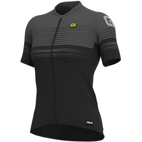 Alé Cycling Graphics PRR Slide SS Jersey Dame black/charcoal grey